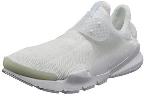 Nike Performance Damen und Herren Sneakers Sock Dart Kjcrd Weiss (10) 44 (Nike-dart Weiße)