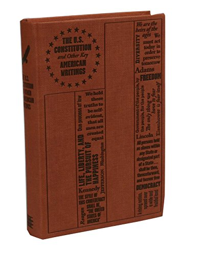 Price comparison product image The U.S. Constitution and Other Key American Writings (Word Cloud Classics)