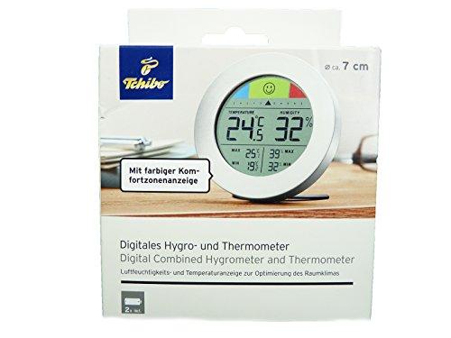 TCM Tchibo Digitales Hygro - und Thermometer Temperatur Luftfeuchtigkeit