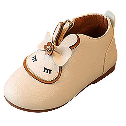 Liuchehd scarpine neonato primi passi sneaker bambini scarpe sandalo casual bambini bambino bambina coniglio cartoon zipper bowknot stivali scarpe da principessa