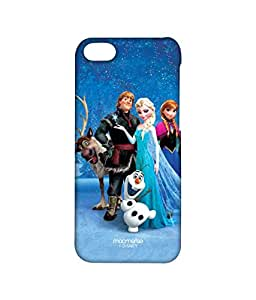 Licensed Disney Elsa, Anna, Olaf, Frozen Premium Printed Back cover Case for iPhone 5C