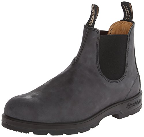 BLUNDSTONE Classic 587, Unisex-Erwachsene Chelsea Boots, Schwarz (Nero), 47 EU
