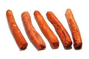PJ Pet Poducts Beefy Rawhide Rolls 15 cm (50 Pieces x 22 g)