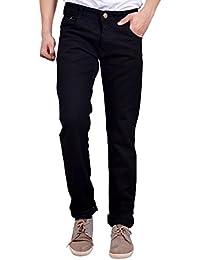Studio Nexx Black Men's Regular fit Jeans