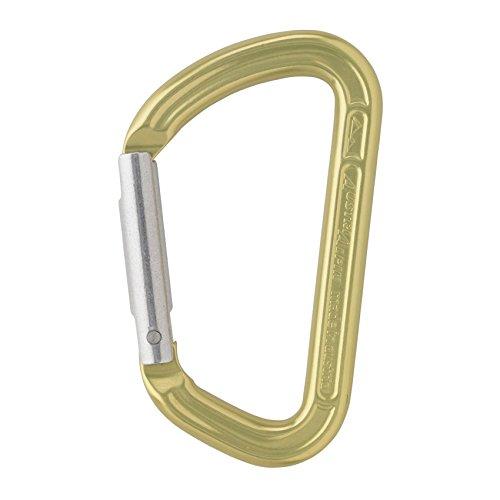 AustriAlpin - Zubehör Karabiner aus Alu (poliert), Farbe:gelb eloxiert -