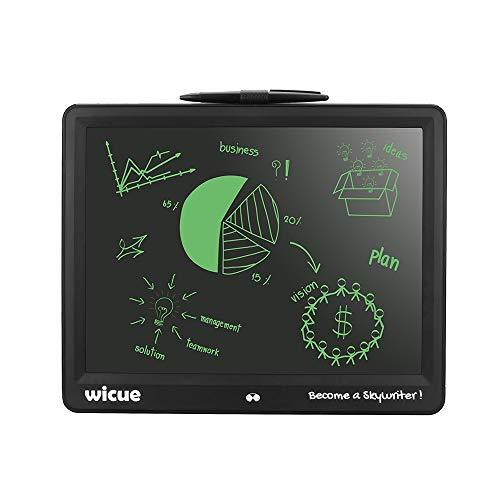 Dmxiezib 15 Zoll LCD Tablet Computer Elektronische Tafel Kleine Tafel Student Writing Painting Board Memo Nachricht Anschlagtafel Flüssigkristall (Schwarz)