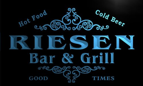 u37605-b-riesen-family-name-bar-grill-home-brew-beer-neon-sign-enseigne-lumineuse