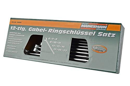Mannesmann Gabelringschl.Satz 12-tlg. DIN 3113,, M19652 - 3
