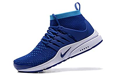 091b9cf88a8 Nike Air Presto Ultra Flyknit Men's Shoe (7, Blue): Buy Online at ...