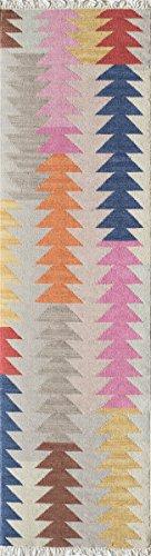 momeni Teppiche caravcar-3mti2030Caravan Collection, 100% Wolle handgewebt übergangsgebiet Teppich, 2'x 3', Multicolor, Wolle, Multi, 2'3