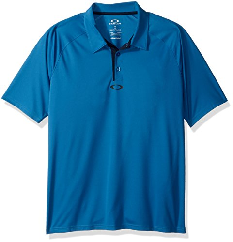 Oakley Elemental 2.0–Polo–Herren XL California Blue (Oakley-golf-polo-shirt)