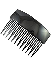Sarah 12 Teeth Plastic Hair Comb Clip Hairpin Side Combs Pin for Women and Girls