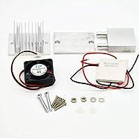 sdfghzsedfgsdfg Kit de bricolaje termoeléctrico Peltier de enfriamiento Refrigeración plata de alimentación del sistema Ventilador Tec1