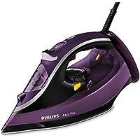 Philips Azur Pro Plancha de Vapor, 3000 W, 0.35 litros, 0.35, Cerámica, Morado