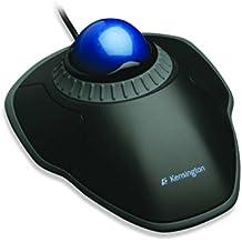 Kensington Orbit Mouse Trackball con Anello Rotante, Nero