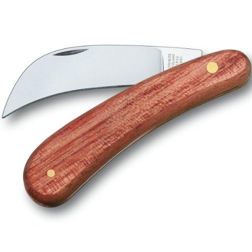 Victorinox - coltello gancio, coltello innesto, hardwood, 110 mm, 1.9300 - Victorinox Innesto Coltello