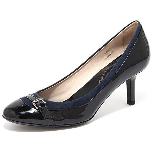 Tod's 55491 Decollete Cuoio T QU FIBBIETTA Scarpa Donna Shoes Women [37.5]