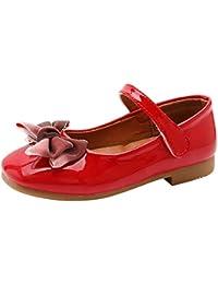 9ba7ce058d6b7 Daytwork Girls Shoes Ballet Flats - Kids Mary Janes Shoes Princess Soft  Sole Cute Bowknot Sweet