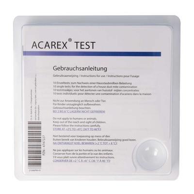 Acarex Hausstaubmilben-Test