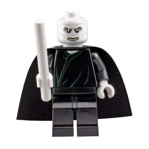 inifigur Lord Voldemort mit weissem Zauberstab (Alle Harry Potter Zauberstäbe)