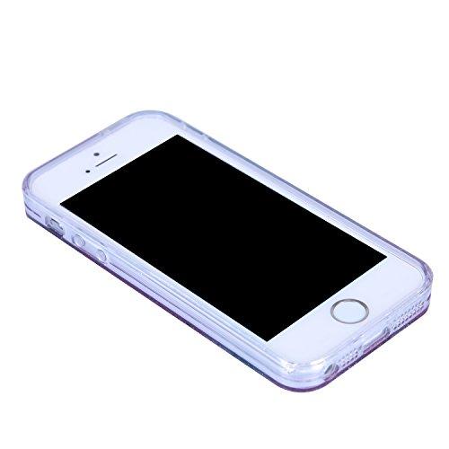 Coque iPhone 5, Coque iPhone 5S, Coque iPhone SE, iPhone SE 5S 5 Coque Glitter Paillettes Etui, BONROY® Housse Silicone Portable Premium Case Cover pour iPhone SE 5S 5, Modèle créatif clair et adorabl Pastèque