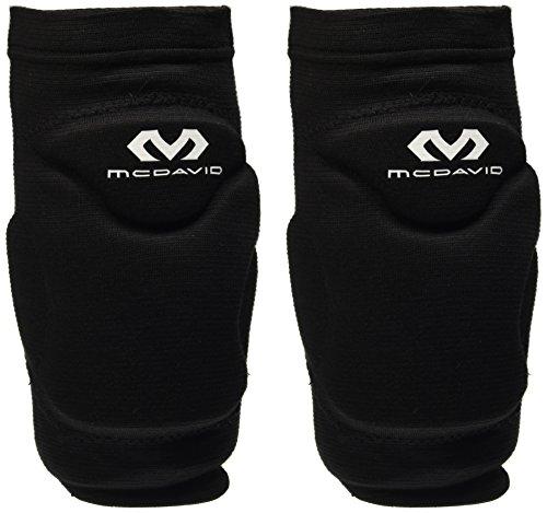 McDAvid, Knie-/Gomitiere 602 FLEXY, Nero (black), M