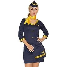 Maylynn 14142 - Kostüm Stewardess Flugbegleiterin mit Tasche