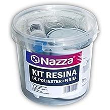 Kit de Resina de Poliéster + Fibra de Vidrio Nazza