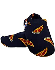 SKIPS Comfortable Baby Booties Shoes for Baby Girl & Boy - Pizza Print