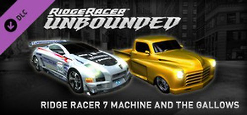 Ridge Racer Unbounded 7 Machine & The Gallows Pack DLC 3