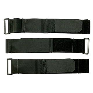 Benristraps extra lang und breit Klettband Klettverschluss Gurtschnellverschluss Kabelbinder 3 Stück (150cm, 40 mm breit)