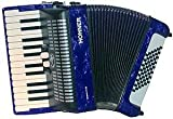 HOHNER BRAVO II 48 BLEU Accordéon Accordéon chromatique Clavier piano
