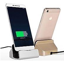 Theoutlettablet® Dock Cargador / Sincronización para Smartphone Xiaomi Mi4s / Mi5 / Mi5plus / Mi6 con conexión USB Type-C Wall Charger