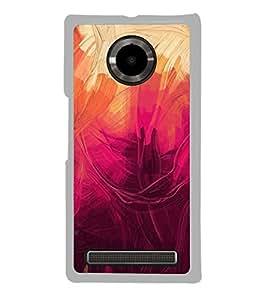 FUSON Abstract Acrylic Painted Background Designer Back Case Cover for YU Yuphoria :: YU Yuphoria YU5010