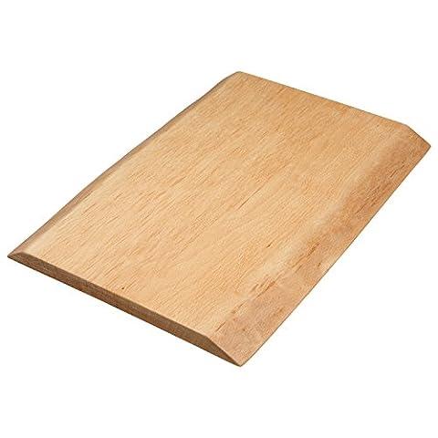 Planche en bois Paul naturel 100% en hêtre massif, biogeölt, sans colle, Bois, Klein (40 x 25 x
