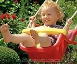 Babysitz für Schaukel Winnetoo Spielsystem, rot-gelb - Kinderspielgeräte für Garten, Spielgeräte für Kinder, Spielturm, Spieltürme -