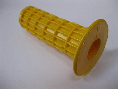 Gummi Griff für Rad Sackkarre 22mm Bar Trolly Schreckgespenst Bike Motorhacke, gelb