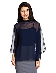 AND Womens Body Blouse Shirt (AW16AY76TPGBLUE10)