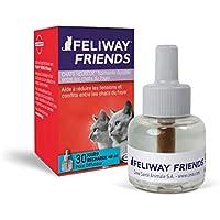 FELIWAY Friends - Anticonflictos para gatos - Peleas, Persecuciones, Bufidos, Bloqueos - Recambio 48 ml