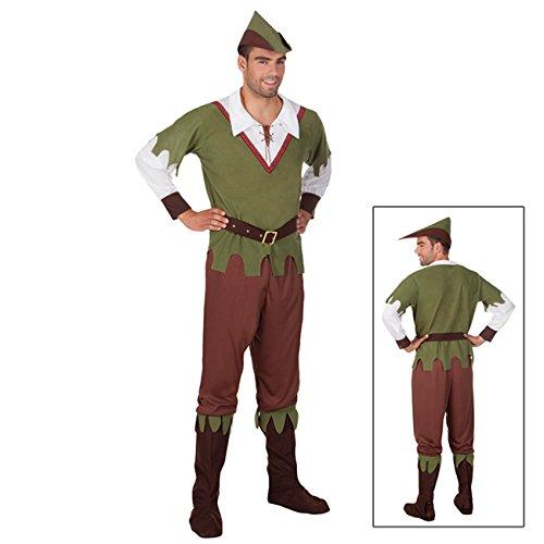 Boland 83611 - Erwachsenenkostüm Forest Hunter, Größe 54 / (Hunter Forest Kostüm)