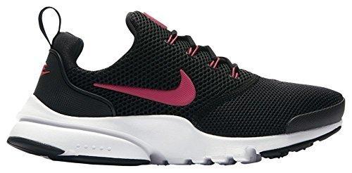 Nike Presto Fly Ältere Kinder' Schuh - Black/Rush Pink-Weiß, 37.5 (Nike-kabel)