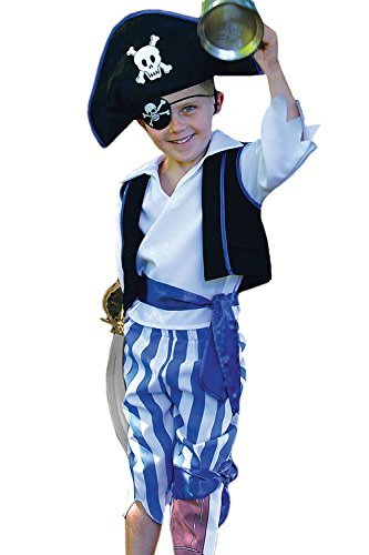 Peg Leg Kostüme (Peg Leg Pirate Boys will be Boys Fancy Dress 6 - 8 years by Travis)