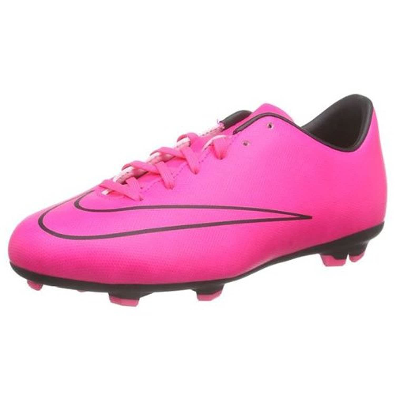 Nike Mercurial Victory V Fg, Girls Football Training Shoes, Pink (Pink), 1 Child UK (33 EU)
