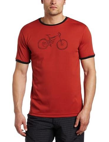 zoic Herren Cycle Tee Ringer Tech Tee, Herren, Nova