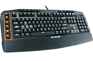 Logitech G710+ Mechanical Gaming Tastatur (QWERTZ, deutsches layout) schwarz/orange