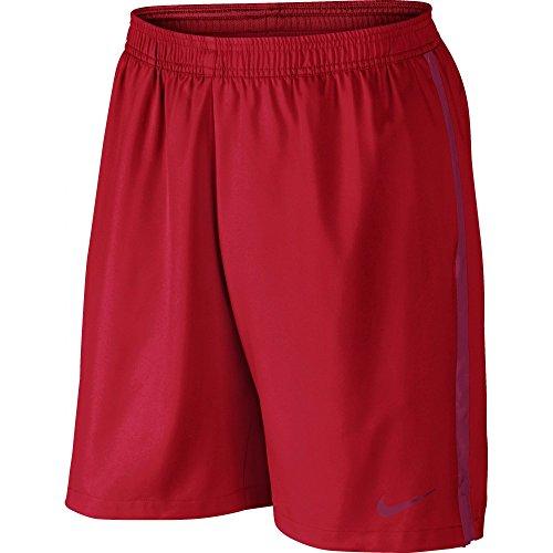Nike Court 9 Zoll Shorts Men Beinkleid Rot