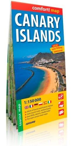 Canary Islands r/v wp +tourist info (Expressmap) par ExpressMap Polska Sp. z o.o.