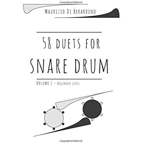 58 duets for snare drum: Volume 1