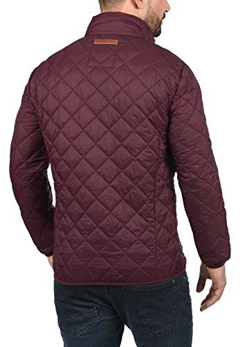 Blend Stanley Herren Steppjacke Übergangsjacke Jacke Mit Stehkragen, Größe:S, Farbe:Zinfandel (73006) - 3