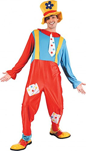Party Pro 872050-Kostüm Clown, Mehrfarbig, M/L Preisvergleich